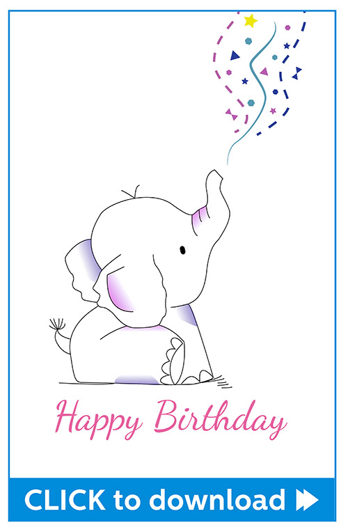 Free Printable Birthday Cards Greeting Card Downloadables