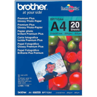 Brother BP71GA4 Original A4 Premium Plus Glossy Photo Paper 260g x20