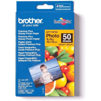 Brother BP71GP50 Original 10x15cm Premium Plus Glossy Photo Paper 260g x50