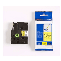 Click to view product details and reviews for Brother Tze Fx641 Original P Touch Black On Yellow Flexible Id Laminated Tape 18mm X 8m.