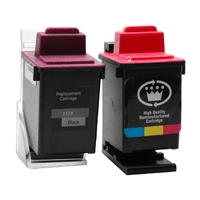 Lexmark IN700 IN710C 13400HC 13619HC Compatible Black Colour Ink Cartridge Pack