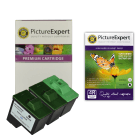 Lexmark 16/26 Compatible Black & Colour Ink Cartridge & Photo Paper Pack + 1 FREE Black