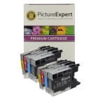 Brother LC1240 Compatible Black Colour 8 Ink Cartridge Pack Special Deal