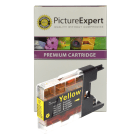 Brother LC1240Y Compatible Yellow Ink Cartridge