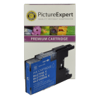 Brother LC1280XL C Compatible High Capacity Cyan Ink Cartridge