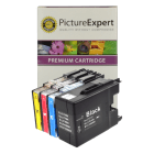 Brother LC1280XL Compatible High Capacity Black Colour 4 Ink Cartridge Pack