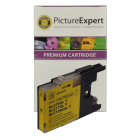 Brother LC1280XL Y Compatible High Capacity Yellow Ink Cartridge