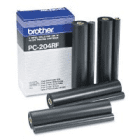 Brother PC204RF Original Four Pack Thermal Transfer Ribbon