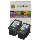 Canon CL 541 Compatible Colour Ink Cartridge Twinpack