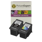 Canon PG 540 CL 541 5525B006 Compatible Black and Colour Ink Cartridge 2 Pack