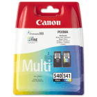 Canon PG 540 CL 541 5525B006 Original Black and Colour Ink Cartridge 2 Pack