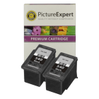 Canon PG 540 Compatible Black Ink Cartridge Twinpack