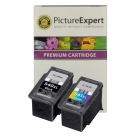 Canon PG 540XL CL 541XL Compatible High Capacity Black and Colour 2 Ink Cartridge Pack