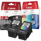 Canon PG 540XL CL 541XL Original High Capacity Black and Colour 2 Ink Cartridge Pack