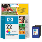 Original HP 22 C9352ae Colour Ink Cartridge